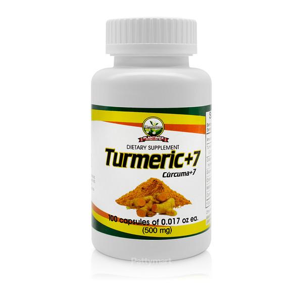 Curcuma Caps X 100 (Turmeric +7)