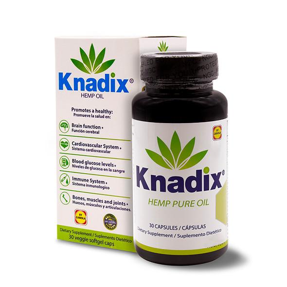 Knadix Hemp Oil 30 caps