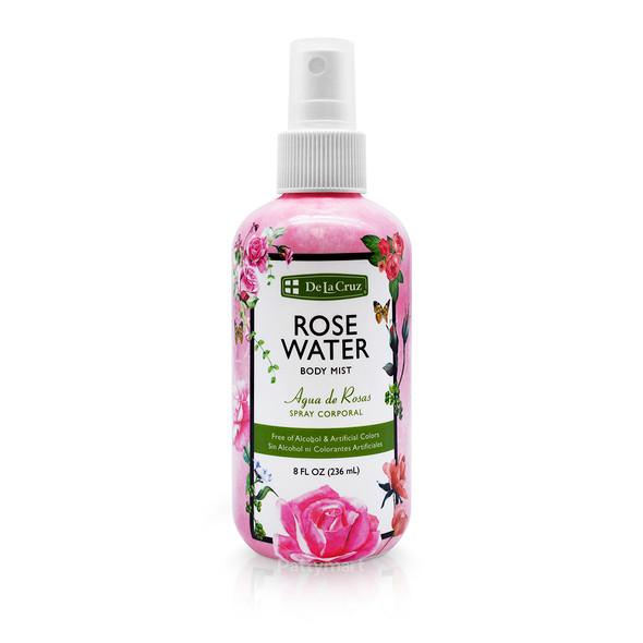 Agua de Rosas Dlc 8 Oz