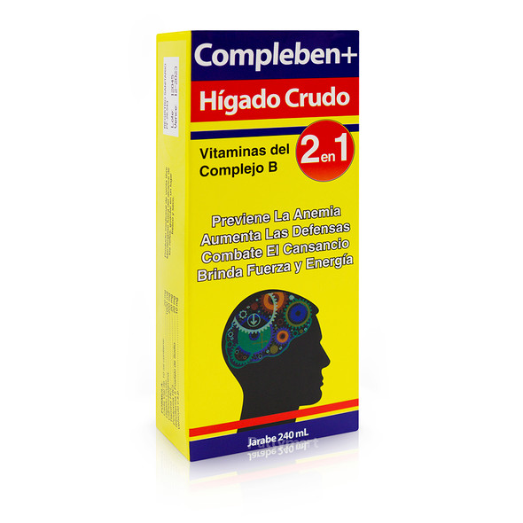 COMPLEBEN HIGADO CRUDO JARABE 240 ML