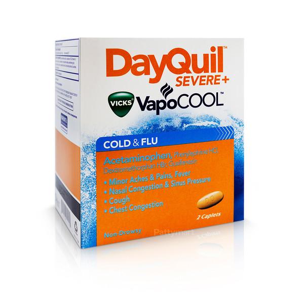 Dayquill Severe + Vapo Cool Disp X 20/2
