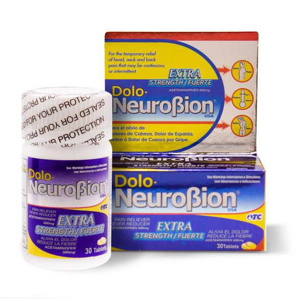 Doloneurobion 30 pills_BOX & JAR_CAJA Y FRASCO