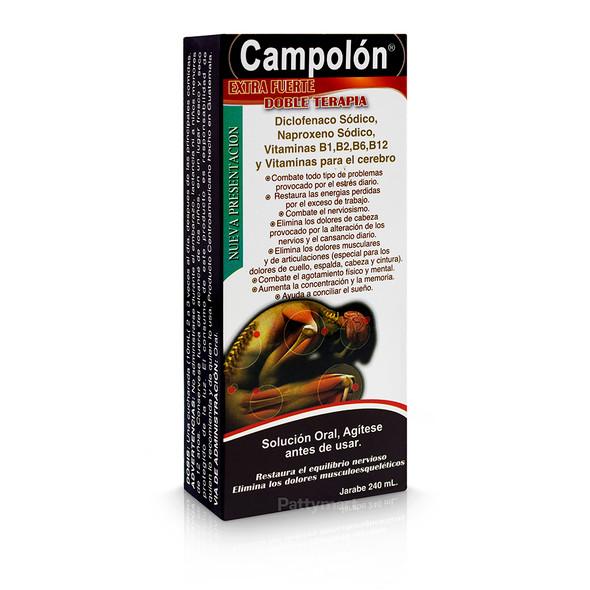CAMPOLON JARABE 240 ML