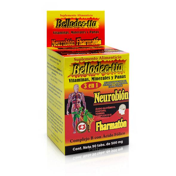 BELLODEC-TTA NEUROBION FHARMATON X 100 TAB