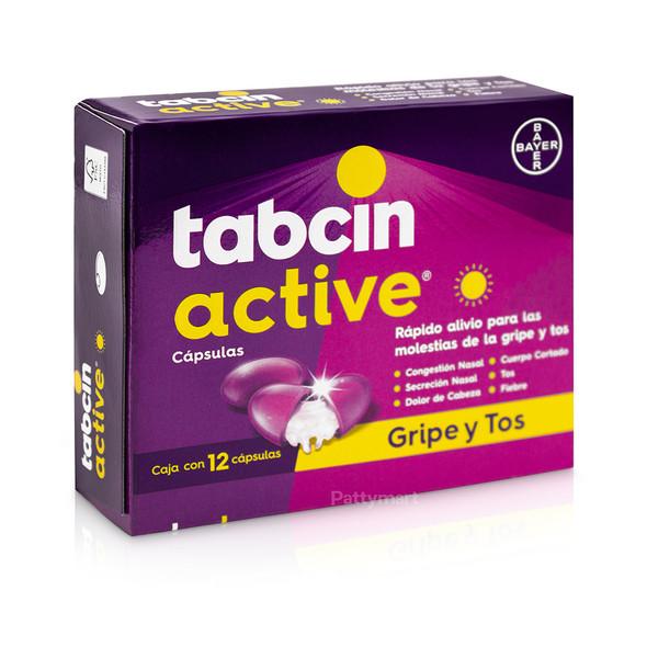 Tabcin Active Día x 12 Caps
