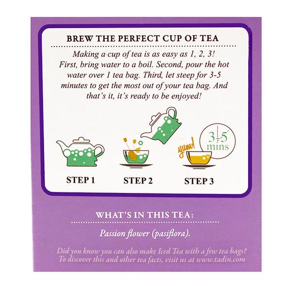 Tea de Pasiflora TADIN - 24 bags_Facts