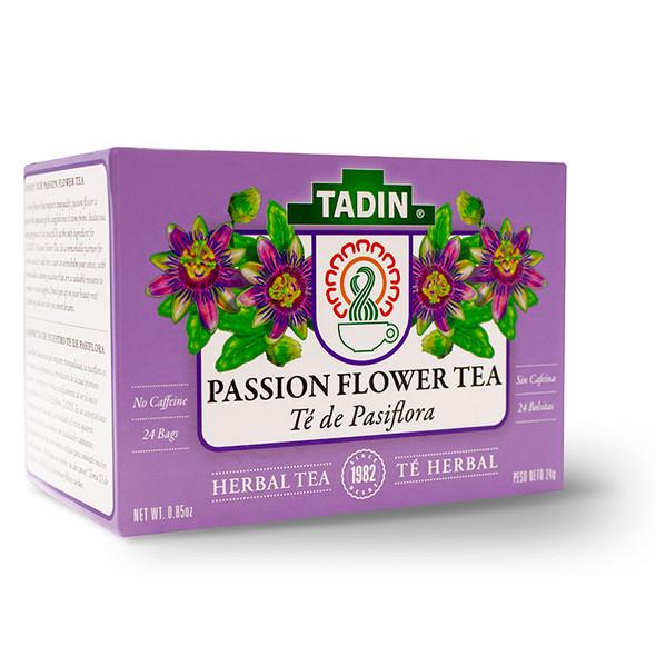 Tea de Pasiflora TADIN - 24 bags_Box_Caja