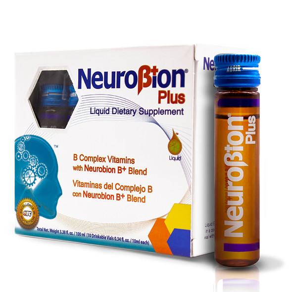 Neurobion Plus x 10 viales_Box&Jar_CajaYVial