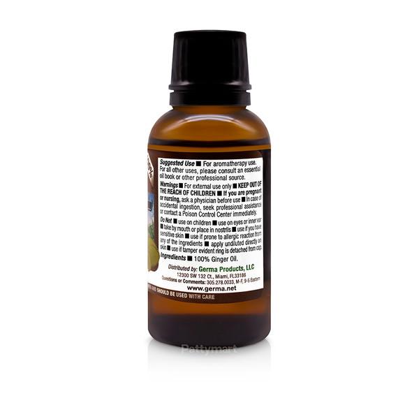 Ginger Oil 100% Puro 1 oz Germa