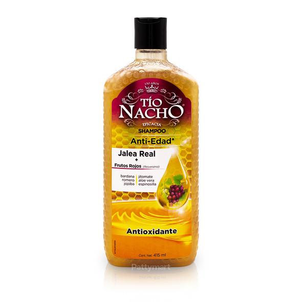 Tio Nacho Shampoo Royal Jelly + Red Fruits / Shampoo Jalea Real + Frutos Rojos 415ml