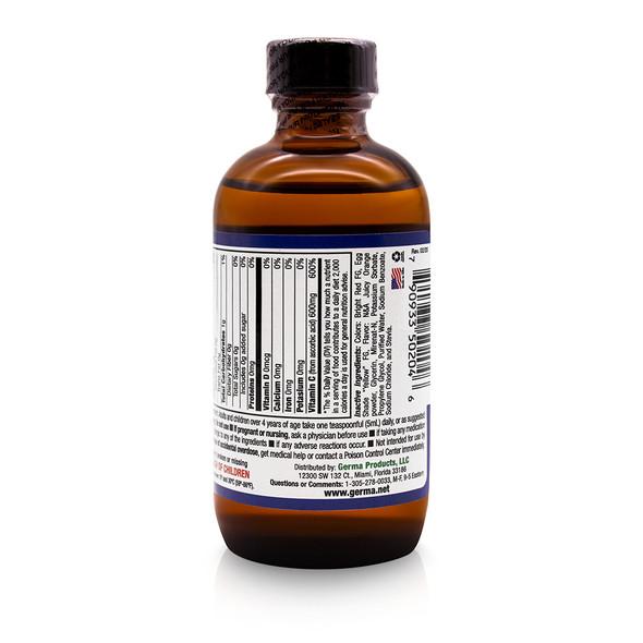 Germa Liquid Vitamin C / Vitamina C Liquida 4 oz