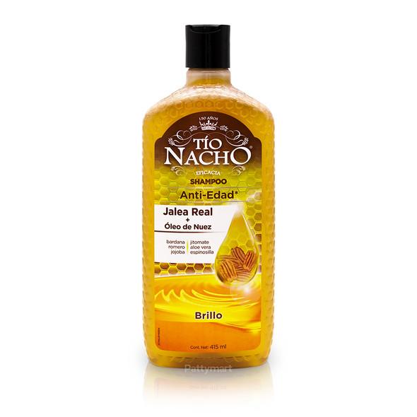 Tio Nacho Shampoo Royal Jelly + Walnut Oil  / Shampoo Jalea Real + Oleo de Nuez 415ml