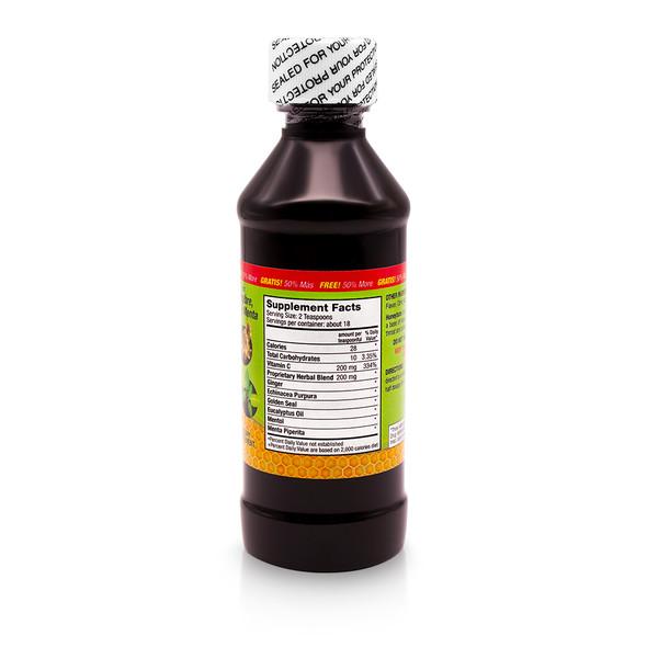 Germa Honeytaze Syrup / Jarabe con Gengibre, Miel y Menta 6 oz