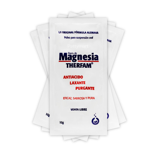 Oxido De Magnesia Therfam x 72 Sobres