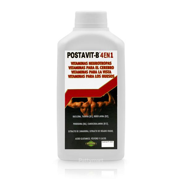 POSTAVIT-B 4 EN 1 JARABE 240 ML