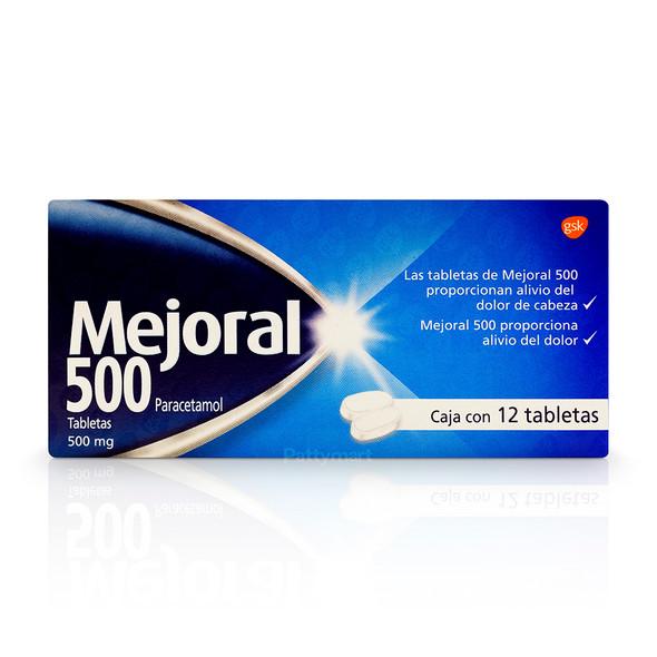 Mejoral Tab 500 Mg X 12