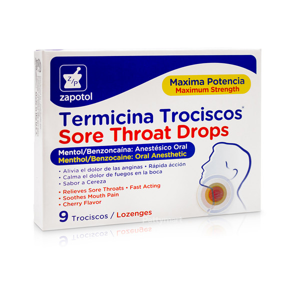 Termicina Trociscos Zapotol x 9