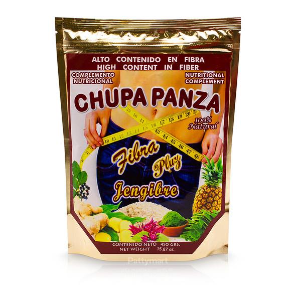 FIBRA CHUPA PANZA + JENGIBRE 450 GM