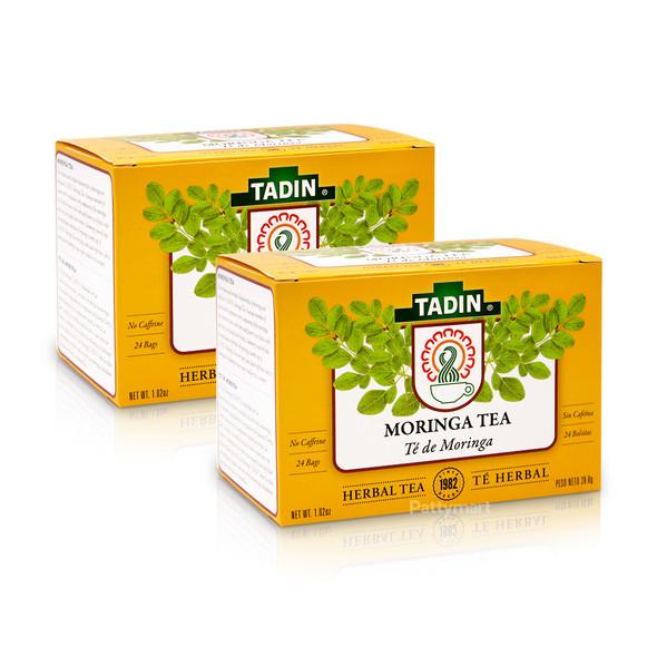 Set 2 Te Moringa/ Moringa Tea TADIN - 24 bags