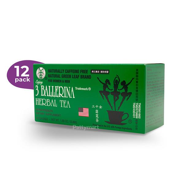 12 Ballerina tea 18 ct / Te de Bailarina