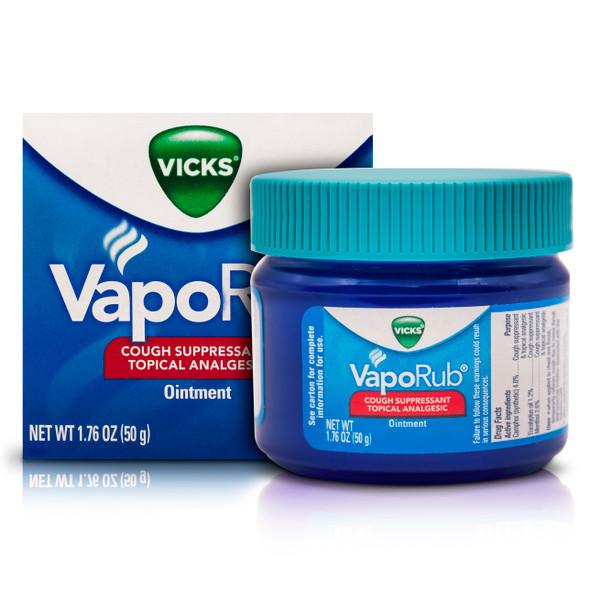 Vicks VapoRub 50 gr_Box&Jar_CajaYFrasco