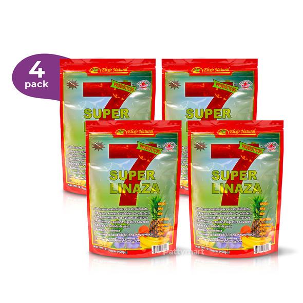 4 Pack Linaza Super 7