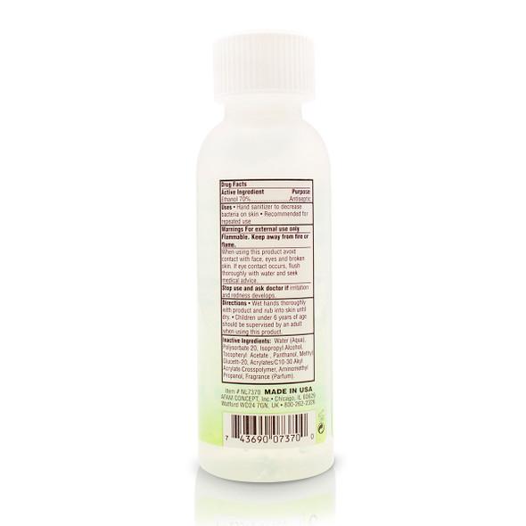 New Life hand sanitizer 1.75 oz_Back