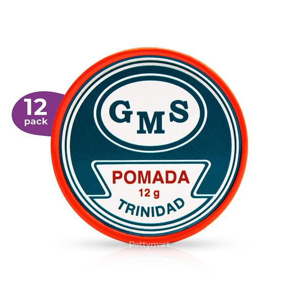 12 Pack Pomada GMS Trinidad