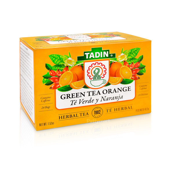 Tea Verde y Naranja Tadin