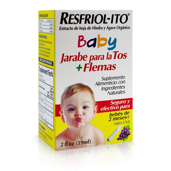 RESFRIOLITO BABY JARABE 2 OZ
