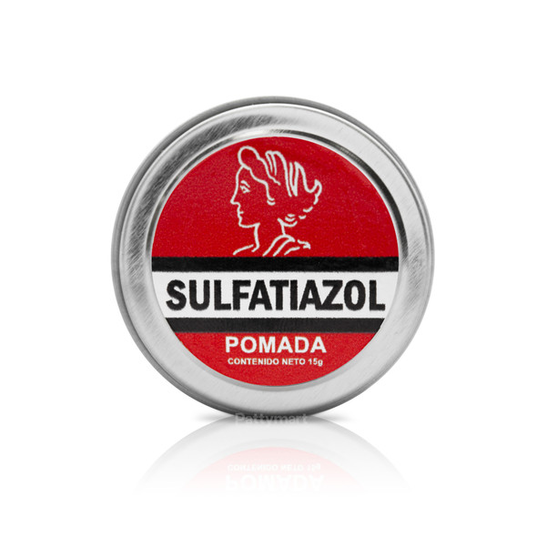 Pomada Sulfatiazol en Lata 15 Gr