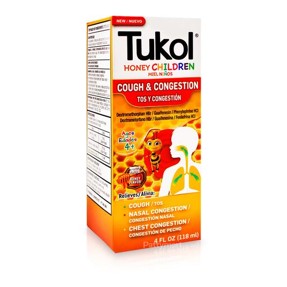 Tukol Jarabe Honey Children 4 oz