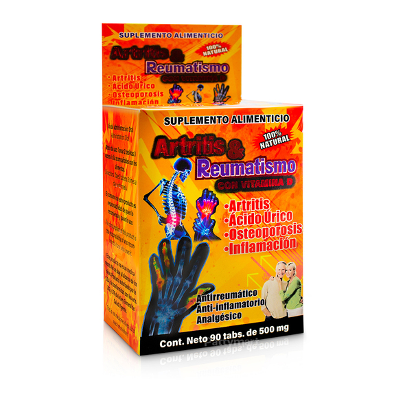 Artritis y Reumatismo x 90 Tabs