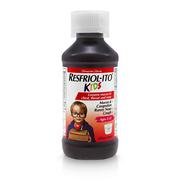 RESFRIOLITO KIDS COLD & MUCUS 4 OZ