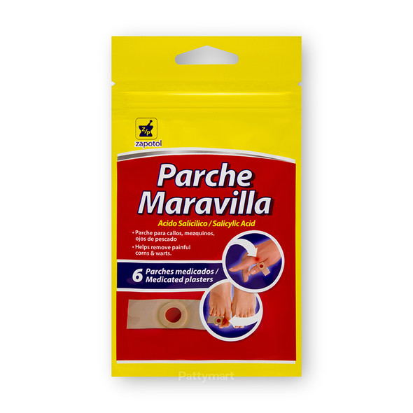 PARCHE MARAVILLA (QUITA CALLOS)