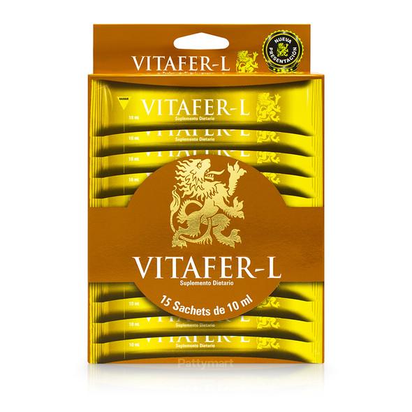 Vitafer Sachet x 15 Bebibles 10 mL c/u