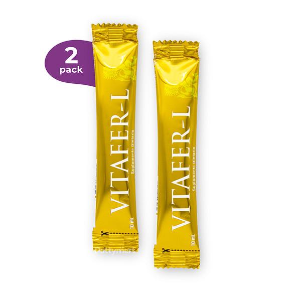 Vitafer Sachet x 2 Bebibles 10 mL c/u