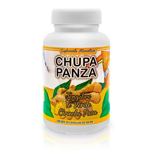CHUPA PANZA X 30 CAPS AJO, TE VERDE Y CIRUELA NUTRIMED