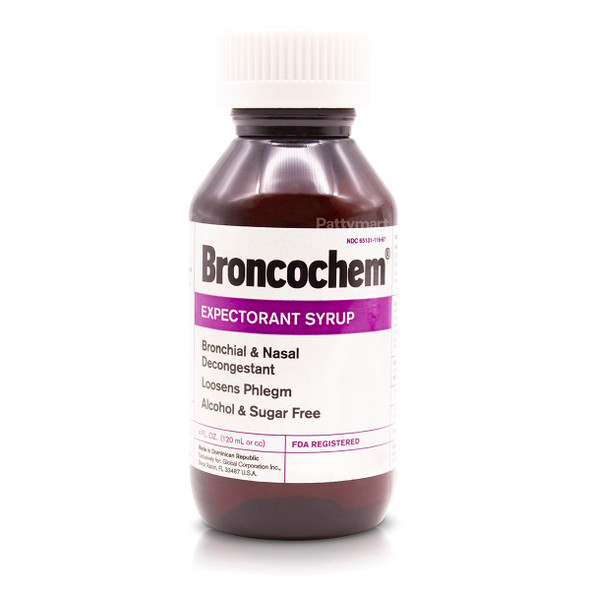 Broncochem Expectorant Syrup 4 oz_Jar_Frasco