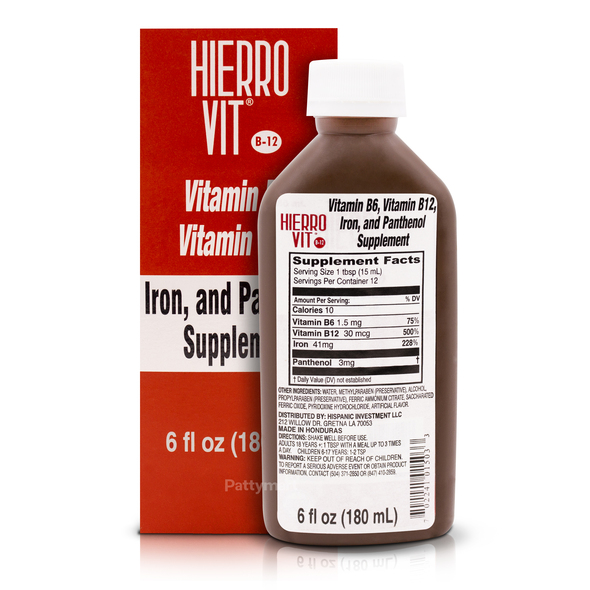 Hierro Vit 6 oz_Box