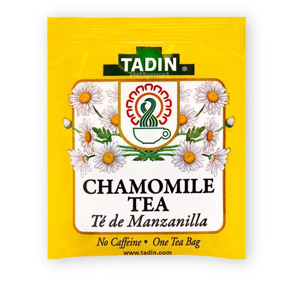 Te de Manzanilla - Chamomile Tea TADIN - 24 bags