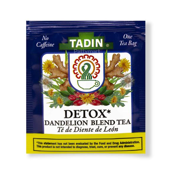 Detox Tea - Te de Diente de Leon TADIN - 24 Bags_Bolsa
