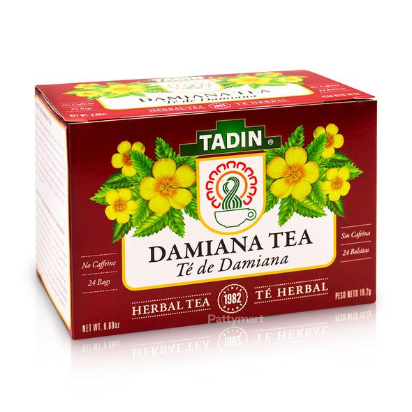 Te de Damiana - Damiana Tea TADIN_Box_Caja