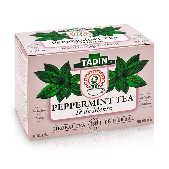 Te de Menta - Peppermint Tea TADIN_Box_Caja