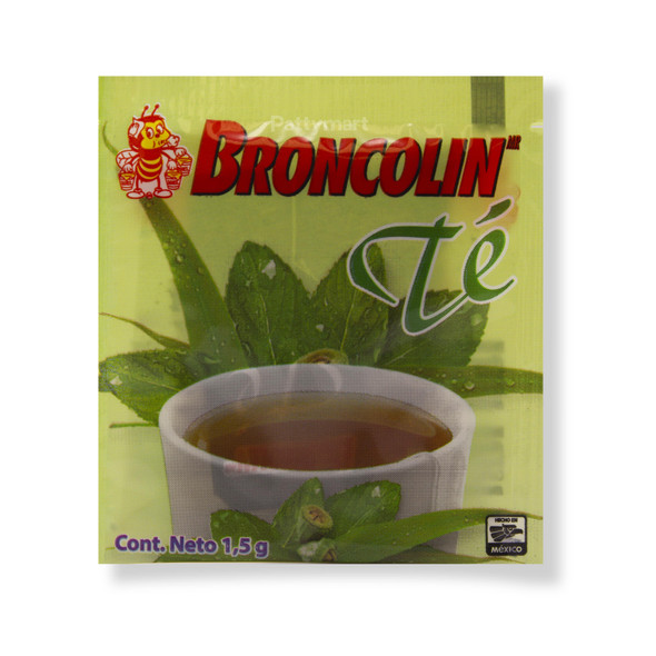Broncolin Tea - 25 bags_Bag_Bolsa