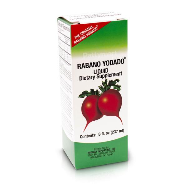Rabano Yodado Liquid 8 oz Dietary Supplement_Box_Caja