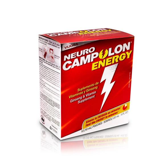 Neuro Campolon Energy X 12 viales_Box_Caja