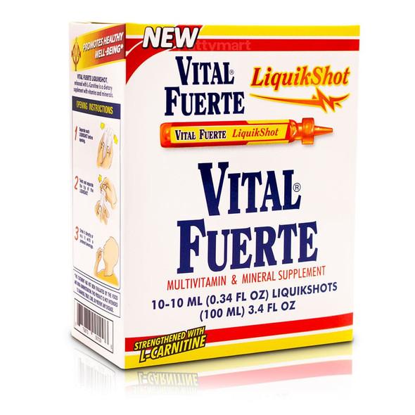 Vital Fuerte Liquikshot X 10 viales_Box_Caja