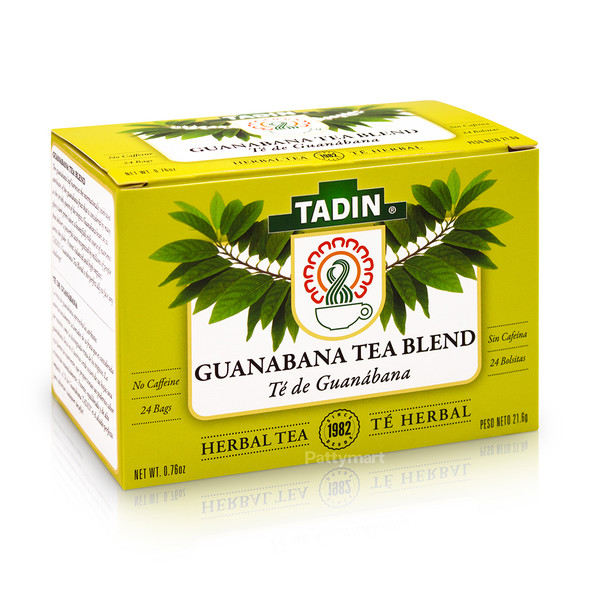 Te Guanabana/Tea Blend Guanabana TADIN_Box_Caja