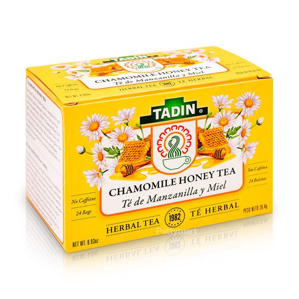 Te Manzanilla y Miel/Tea Chamomile with Honey_Box_Caja